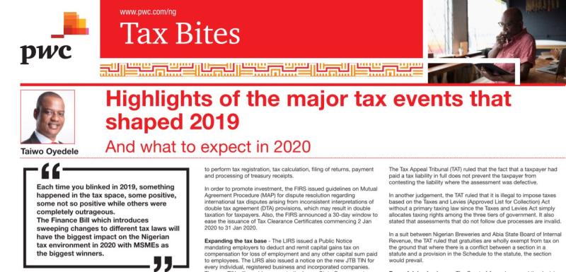 Tax events